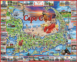 CAPE COD Massachusetts - 1000 Piece Jigsaw Puzzle - Games2Puzzles