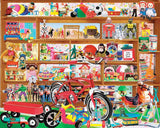 Jigsaw Puzzle Image - 1000 pc collage of vintage toys