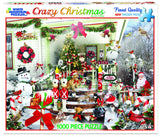 CRAZY CHRISTMAS - 1000 Piece Jigsaw Puzzle