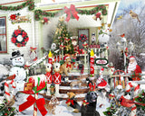 Jigsaw Puzzle Image - 1000 pc Christmas Decorations