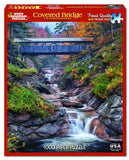 COVERED BRIDGE - 1000 Piece Jigsaw Puzzle
