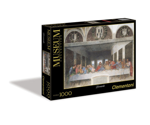 Leonardo da Vinci - The Last Supper - 1000 Piece Jigsaw Puzzle