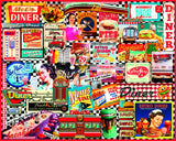 Jigsaw Puzzle Image - 1000 pc nostalgic diner signs