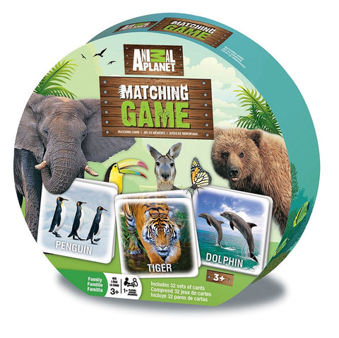 Animal Planet Matching Memory Game