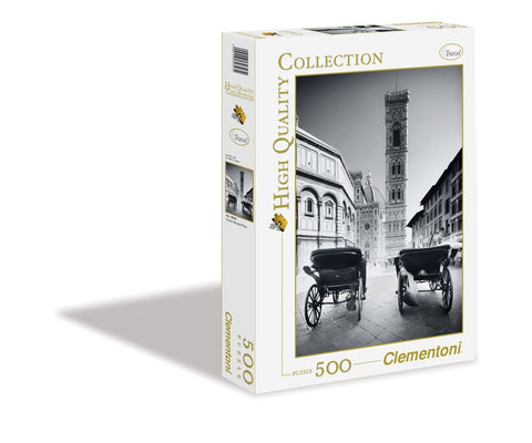 Firenze Black & White- 500 Piece Jigsaw Puzzle