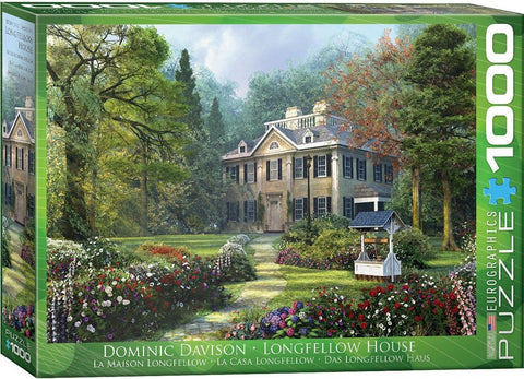 Longfellow House - 1000 Piece Jigsaw Puzzle
