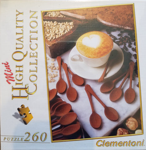 I Love Cappuccino - 260 Piece Jigsaw Puzzle