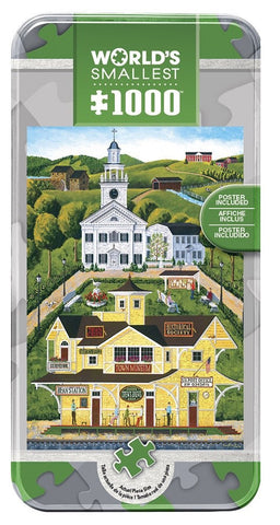 Bean Station Depot - 1000 Piece World's Smallest Jigsaw Puzzle