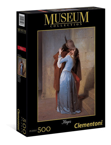 Hayez - The Kiss - 500 Piece Jigsaw Puzzle