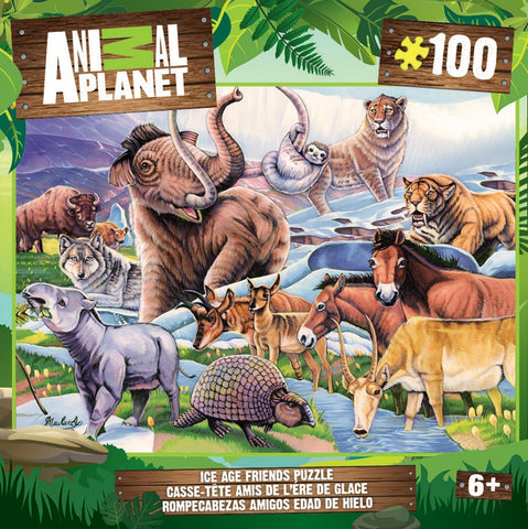 Animal Planet - Ice Age Friends - 100 Piece Jigsaw Puzzle