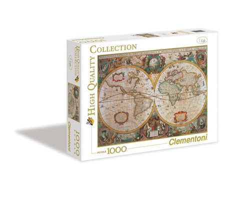 Map jigsaw puzzles games2puzzles old map 1000 piece jigsaw puzzle gumiabroncs