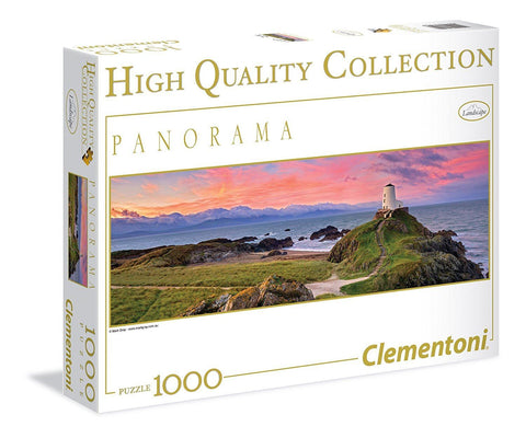 Lighthouse - 1000 Piece Panorama Jigsaw Puzzle