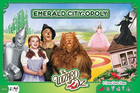 The Wizard of Oz - Emerald City-opoly - Monopoly Board Game