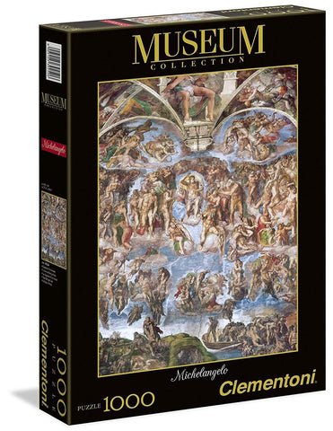 Michelangelo - Universal Judgement - 1000 Piece Jigsaw Puzzle