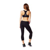 Zumba Fitness Don't Leave Me Hangin' V-Bra - Sew Black (CLOSEOUT)