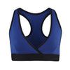 Zumba Fitness Don't Leave Me Hangin' V-Bra - Surfs Up Blue (CLOSEOUT)