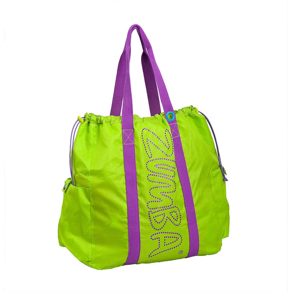 Zumba Fitness Highlighter Tote Bag - Lime Punch