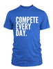 Compete Every Day Classic Men's T-Shirt - Royal Blue