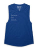 Compete Every Day Because She Dared Muscle Tank - Royal Blue