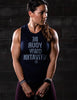Compete Every Day Self Motivated Muscle Tank - Navy