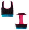 Zumba Fitness Feel Free T-Bra Top - Black