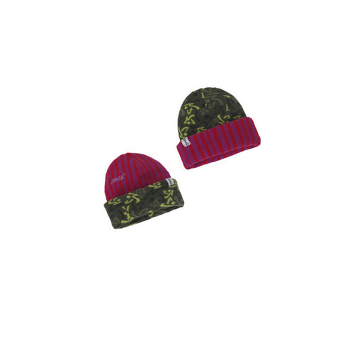Zumba Fitness Cozy Up Reversible Beanie - Pink/Camo