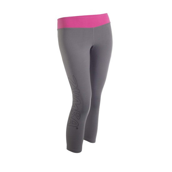 Zumba Fitness Lunar Capri Leggings - Granite