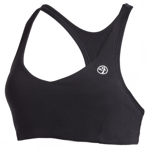 Zumba Fitness Sizzle V-Bra Top - Black