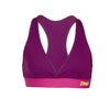 Zumba Fitness Allure V-Bra Top - Plum