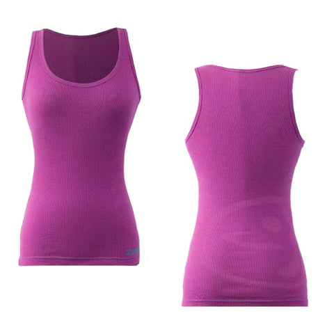 Zumba Fitness Faded Ribbed Tank Top - Purple (CLOSEOUT)