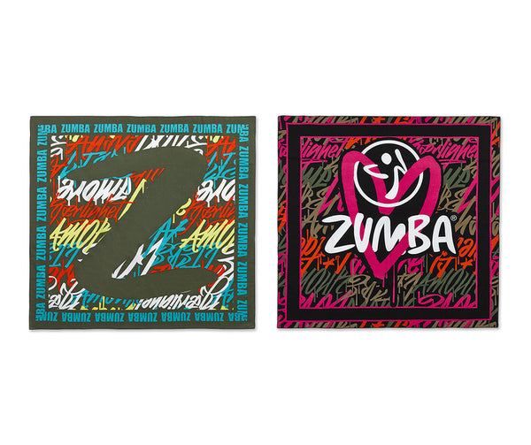Zumba Fitness Be About Love Bandana