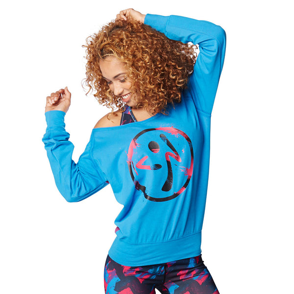 Zumba Fitness Dance Is Zumba Pullover - Sea of Blue