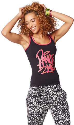 Zumba Fitness Dance is Me Racerback ZIN Exclusive - Back to Black