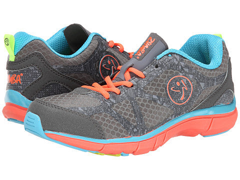 Zumba Fitness Fly Fade Shoes - Graphite Island Blue