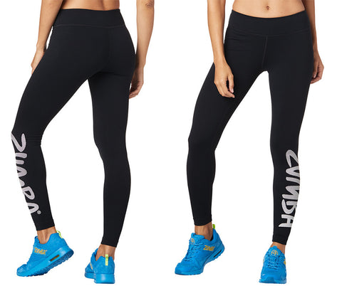 Zumba Fitness Forever Ankle Leggings - Bold Black