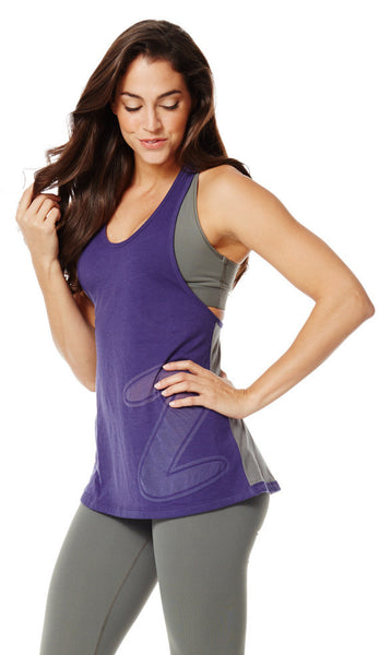 Zumba Fitness Loose Fitting Racerback - Starry Sky