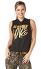 Zumba Fitness Love Sleeveless Hoodie - Bold Black