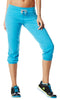 Zumba Fitness Oh-So-Comfy Crave Capris - Bangin Blue