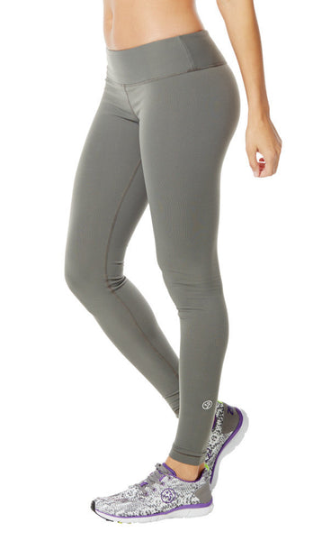 Zumba Fitness Perfect Long Leggings - Go For Gunmetal