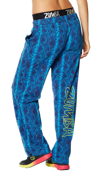 Zumba Fitness Rep My Style Jammin' Jersey Pants - Sea of Blue