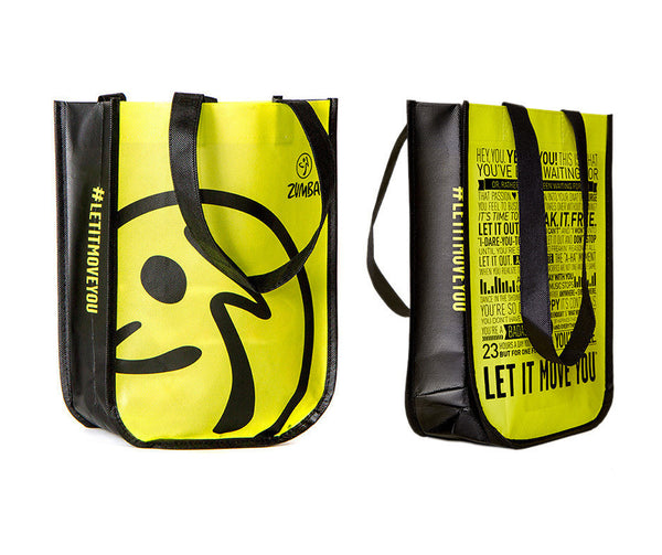 Zumba Fitness Shopping Bag - Let It Move You