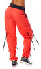 Zumba Fitness Soft-N-Stretch Cargo Pants - Rev Me Up Red