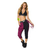 Zumba Fitness Two Tone Dance Pants - Back to Black