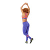 Zumba Fitness Zumba U Slim Fit Jersey Pants - Purple Moon