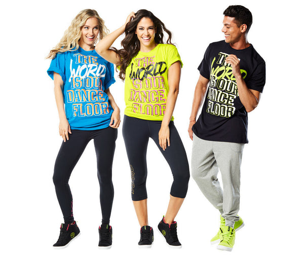 Zumba Fitness World Tour T-Shirt