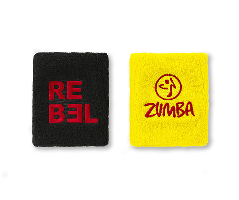 Zumba Fitness Rebel Wristbands 2 PK