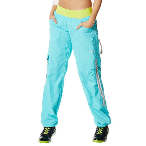 Zumba Fitness Craveworthy Cargo Pants - Deep Blue Sea