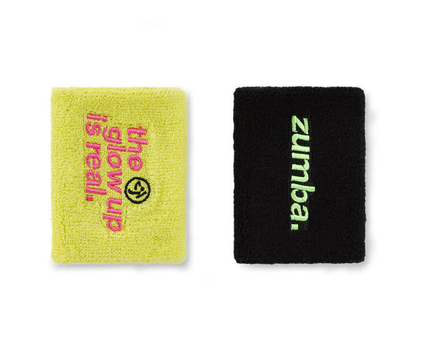 Zumba Fitness Glow Wristbands 2 PK
