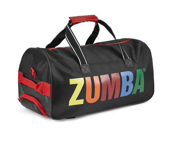 Zumba Fitness Made With Zumba Love Rolling Bag - Bold Black
