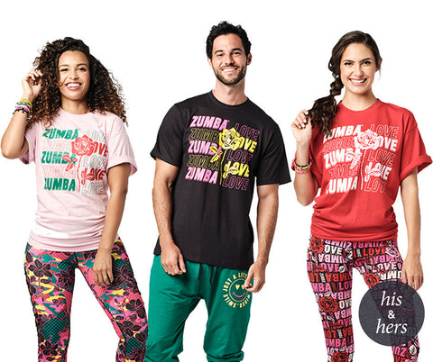 Zumba Fitness Spread Zumba Love Tee T-Shirt